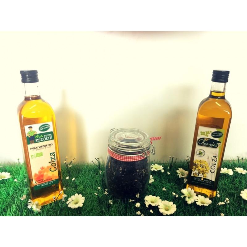 huile colza foie