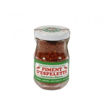 Poudre piment d'Espelette - bocal de 50 g.