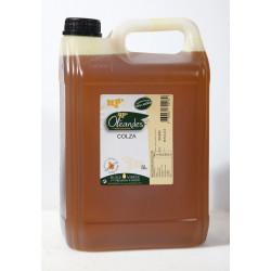 """Bidon d'huile de Colza """"1ère pression à  froid"""" 5 l"""