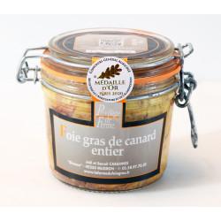 """Foie Gras Entier de canard en conserve """"Médaille d'Or  CGA Paris 2020"""" -..."""