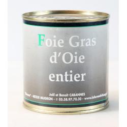 Foie Gras Entier d'oie en conserve - boîte 270 g.