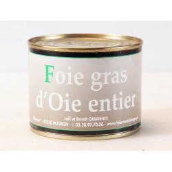 Foie Gras Entier d'oie en conserve - boîte 200 g.