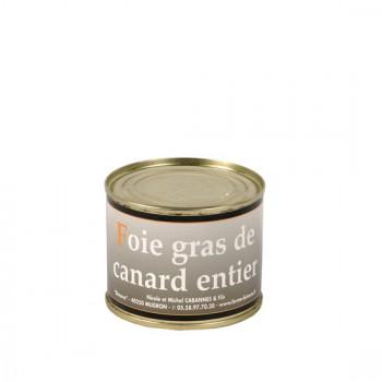 Foie Gras Entier de canard en conserve - Médaille d'Argent 2018- boîte 200 g.