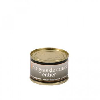 Foie Gras Entier de canard en conserve -Médaille d'Argent 2018-  boîte 60 g.