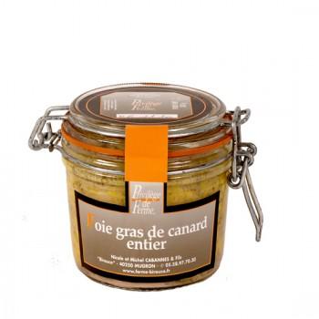 """Foie Gras Entier de canard en conserve """"Médaille d'Argent  CGA Paris 2018""""-..."""
