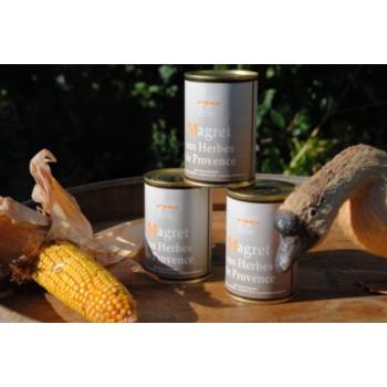 Magret de canard confit aux Herbes de Provence - boîte 380 g.