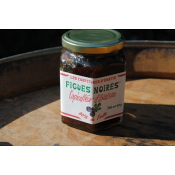 Confiture figues noires Itxassou - bocal 320 g.