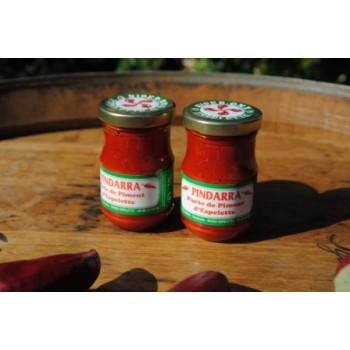 Purée de piment d'Espelette - bocal 100 g.